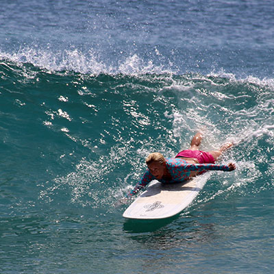 catching a wave is easy, standing up is the tricky part