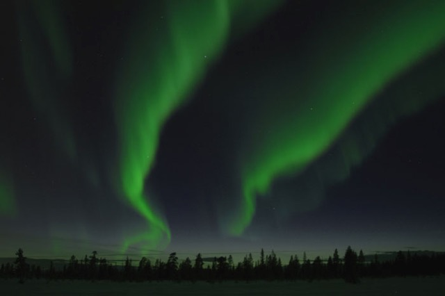 Northern Lights - Photograph: Michael Curley