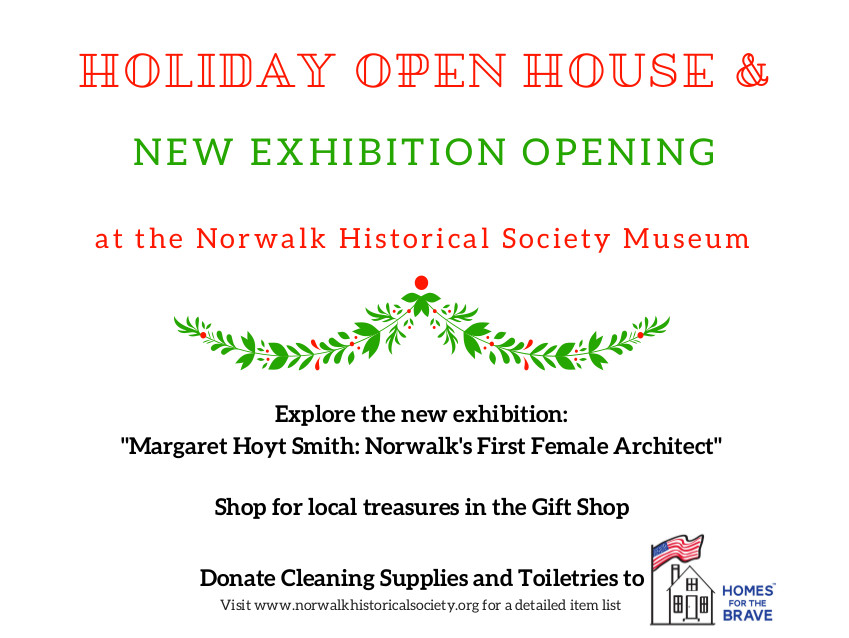 Holiday Open House Amp Exhibition Opening At The Norwalk